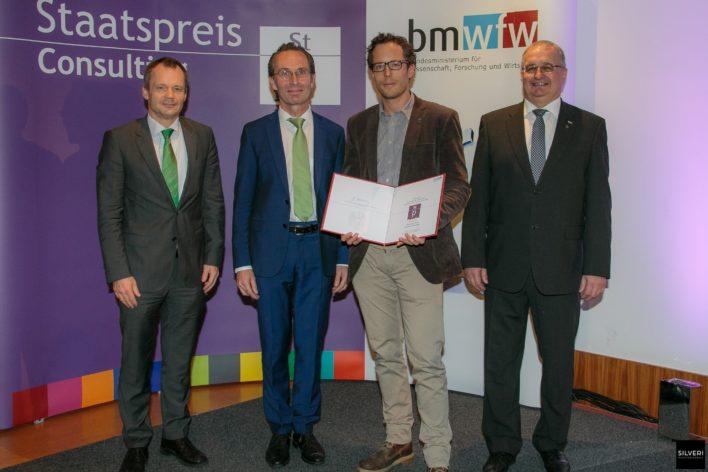 Staatspreis Consulting 2015 Copyright: M.Silveri / BMWFW