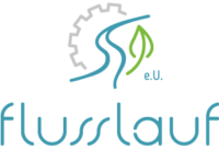 Flusslauf Logo